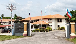 Tambunan District - Tambunan District Council office.