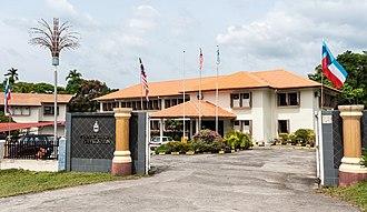 Tambunan District - Tambunan District Council office.