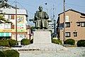 Tanezo Nakae of bronze statue in Toyooka Hyogo.JPG