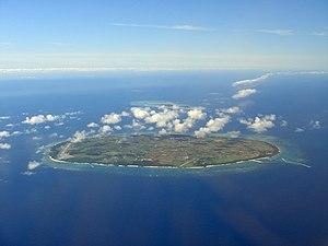 Tarama, Okinawa - Tarama Island (front) and Minna Island (back)