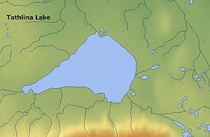 Tathlina Lake -  Map