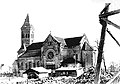 Tauragė Catholic Church in 1944.jpg