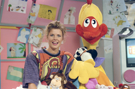 Irene Moors in Telekids in 1990