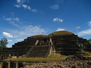 El Salvador - Tazumal ruins in Santa Ana, El Salvador.