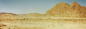 Terlingua, Texas - Maverick Mountain, approx. 4 miles east of Study Butte-Terlingua - indicative of the surrounding terrain