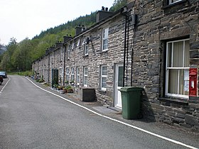 Terrace of cottages at Aberllefenni. - geograph.org.uk - 433609.jpg