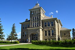 Teton County Courthouse i Choteau.