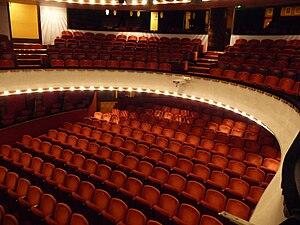Théâtre de la Michodière - Interior of the Théâtre de la Michodière