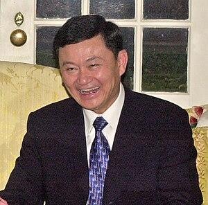 Thaksin Shinawatra - Thaksin meeting Donald Evans in December 2001