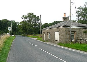 Keighley and Kendal Turnpike - The B6480 and Turnpike House, Settle - geograph.org.uk - 1450823