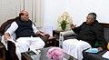 The Chief Minister of Kerala, Shri Pinarayi Vijayan calling on the Union Home Minister, Shri Rajnath Singh, in New Delhi on December 09, 2017.jpg