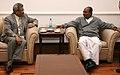 The Defence Secretary of Sri Lanka, Shri Gotabhaya Rajapaksa called on the Defence Minister, Shri A. K. Antony, in New Delhi on January 31, 2012.jpg
