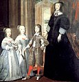 The Dowager Duchess of Savoy (Christine of France) with her children.jpg