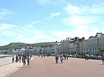 The Eastern Section of Llandudno's Promenade.
