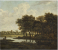 The Ferry Boat -Meindert Hobbema .PNG