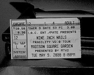Fragility Tour - New York ticket
