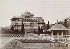 The Indur Mahal -Chandra Mahal- from the garden, Jeypore.jpg