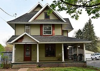 William A. and Ida C. Johnson House - Image: The Johnson House