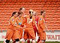 The Ladies Celebrating the 4th Goal against Crewe Alexandra.jpg