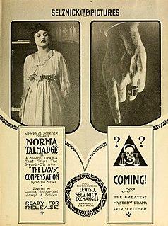 <i>The Law of Compensation</i> 1917 film