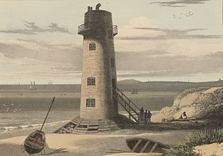 The Light-house on Point of Air, Flintshire