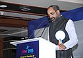 The Minister of State for Chemicals & Fertilizers, Shri Hansraj Gangaram Ahir addressing at the 6th international conference on Advancements in Polymeric Material (APM)- 2015, in Bengaluru on February 19, 2015.jpg