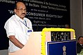 The Minister of State of Agriculture, Consumer Affairs, Food & Public Distribution, Prof. K.V. Thomas addressing at the inauguration of the Conference of Presidents.jpg