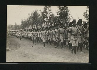 King's African Rifles - The original 3rd Bn KAR formed in 1902 in Kenya