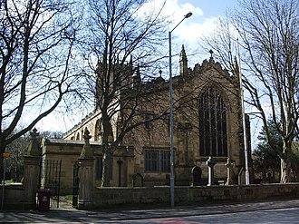 Burnley - St Peter's Church, Church Street