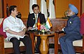 The Prime Minister, Dr. Manmohan Singh with the Vietnam Prime Minister Mr.Nguyen Tan Dung holding bilateral talks, at Cebu in Philippines on January 14, 2007.jpg