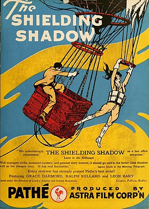 The Shielding Shadow - Advertisement.