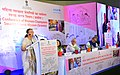 The Speaker, Lok Sabha, Smt. Sumitra Mahajan addressing the National Conclave of Women Champions for Swachh Bharat Mission (Gramin) organised by the Ministry of Drinking Water and Sanitation, in New Delhi.jpg