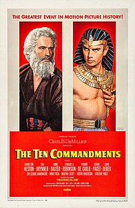 The Ten Commandments (1956 film poster).jpg