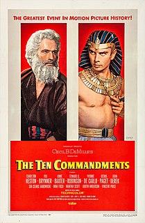 <i>The Ten Commandments</i> (1956 film) Epic film by Cecil B. DeMille