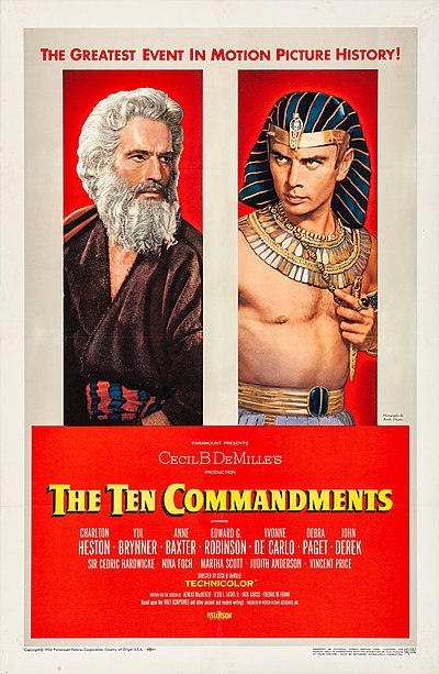 Picture of a movie: The Ten Commandments