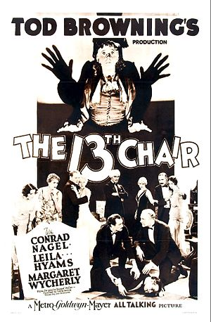The Thirteenth Chair - Image: The Thirteenth Chair Film Poster