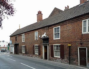 Tied house - The White Horse Inn, Beverley is a Sam Smith's Old Brewery tied house.