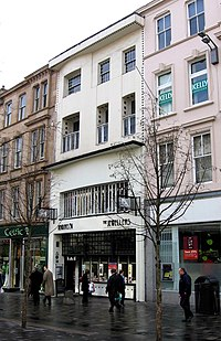 The Willow Tearooms in Sauchiehall Street