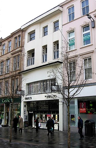 Charles Rennie Mackintosh - The Willow Tearooms in Sauchiehall Street, Glasgow