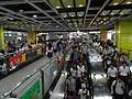 The crowded in Tiyu Xilu Station Line 3.jpg