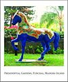 The famous Blue Horse at the presidential gardens in Funchal, Madeira.jpg