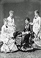 The four daughters of Queen Isabel II of Spain.jpg