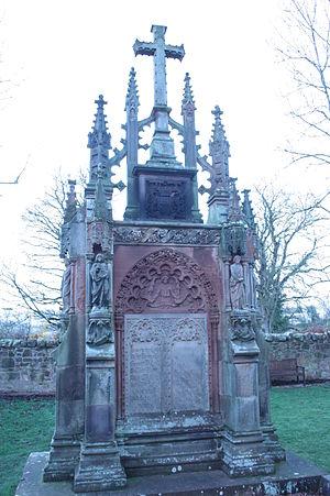 Robert St Clair-Erskine, 4th Earl of Rosslyn - The stunning grave of Robert Francis St Clair-Erskine near Rosslyn Chapel, Midlothian