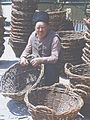 The master on weaving baskets for the grape harvest (Straseni district, the 80-ies famous). (6435255617).jpg