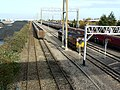 The railway at St Andrew's Road railway station, Avonmouth - geograph.org.uk - 620505.jpg