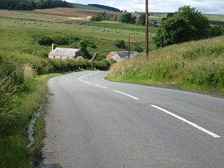 Southdean village in United Kingdom