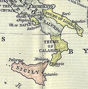 Il Thema (o Ducato) di Calabria