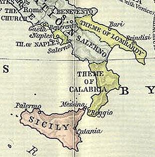 Langobardia thema wikipedia for Metropoli in italia