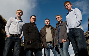 Promotional picture of The Paul McKenna Band t...