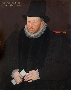Thomas Fanshawe (remembrancer of the exchequer) - Thomas Fanshawe, Remembrancer of the Exchequer, by Marcus Gheeraerts the Younger